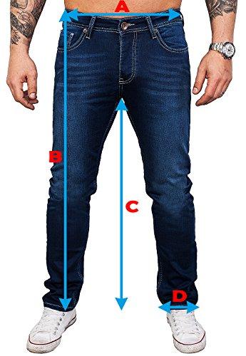 Günstig Rock Creek Designer Herren Jeans Hose Stretch Jeanshose ... 09734ef8c0