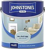 Johnstone's 305980 Vinyl Matt Emulsion - Duck Egg