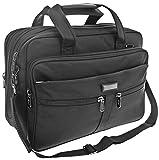 Arbeitstasche Schultertasche Flugbegleiter Umhängetasche Business Messenger Bag Tasche Schwarz