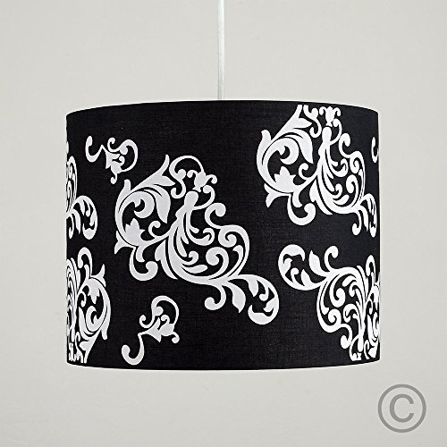 modern-decorative-black-and-white-damask-floral-pattern-polycotton-rolla-cylinder-ceiling-pendant-dr