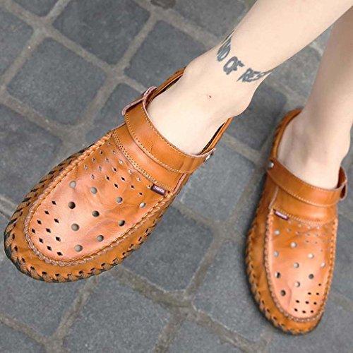 ZXCV Scarpe all'aperto Scarpe casual degli uomini sandali comodi e confortevoli alla moda Marrone