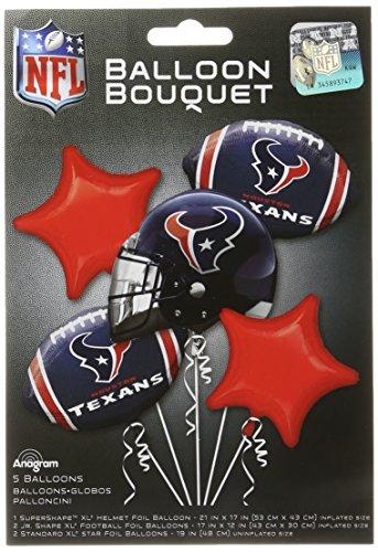 Anagram Bouquet Texans Folie Ballons, multicolor