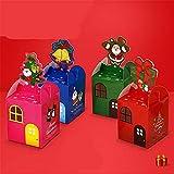 ARAYACY Scatola di Natale/Scatola Regalo di Natale con Scatola di Mele/Scatola Regalo di Caramelle di Natale (100...