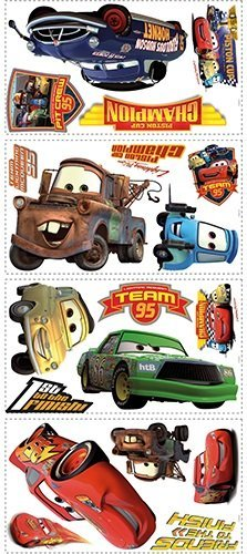 Image of RoomMates Disney Cars Piston Cup Champs Wall Stickers