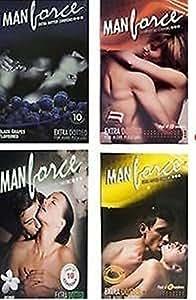 Manforce Condoms Multi Flavoured Combo (40 Piece)