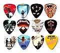 12 x Famous Album Cover Guitar Picks Plectrums Set A