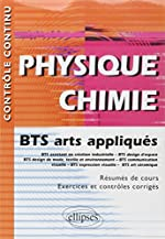 Physique Chimie BTS Arts Appliqués de Bernard Sotta