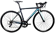 JAVA Veloce Road Bike Aluminum Racing Bicycle with Shimano Claris 16 speed