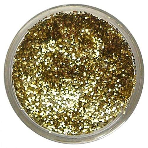Islander Fashions Unisex Glitter Gel Gesichtsfarben Erwachsene Kinder Kost�m Glitter Make Up Kit Zubeh�r Gelbgold Einheitsgr��e