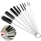 PANGUN 10St Nylon Tube Pinsel Set Reinigungsbürste Set Für Brillen Tastaturen Schmuck Hausreinigung Zubehör
