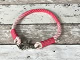 Tau-Halsband Größe 42-44cm Rosa
