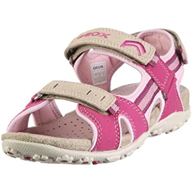 geox junior sandal roxanne j01d9r05022c5272 m dchen sandalen violett fuchsia pink 40 amazon. Black Bedroom Furniture Sets. Home Design Ideas