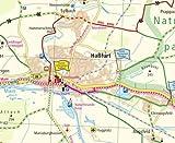 MainRadweg 1, Bischofsgrün/Creußen - Würzburg: Leporello Radtourenkarte mit Ausflugszielen, Einkehr- & Freizeittipps, wetterfest, reissfest, ... 1:50000 (Leporello Radtourenkarte / LEP-RK) -