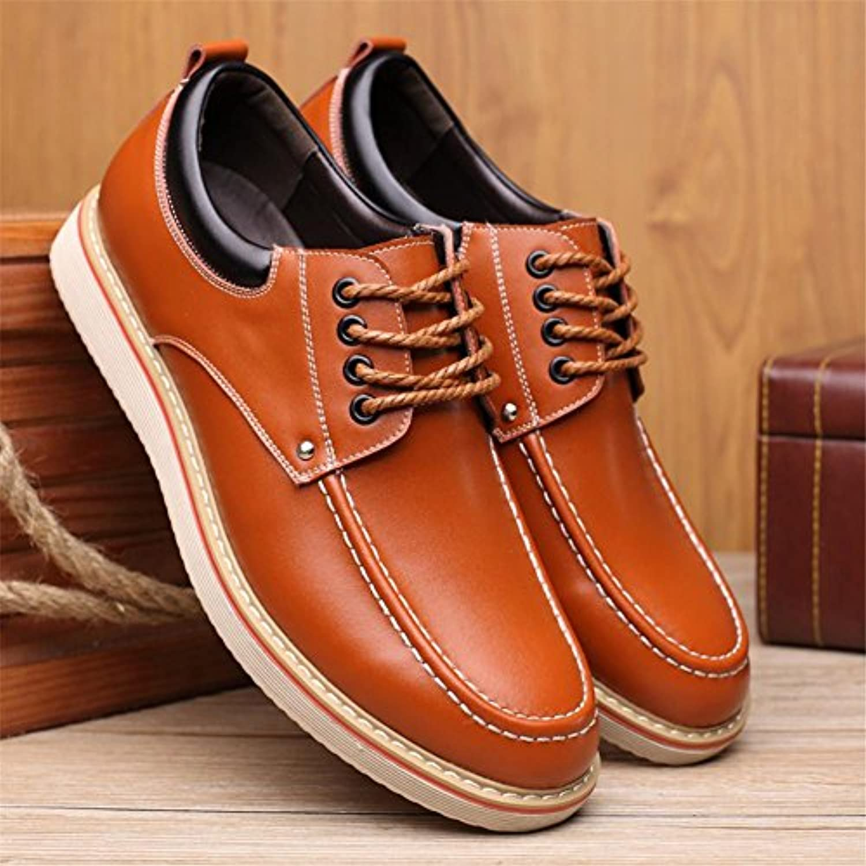 Herren Herbst Mode Casual Stiefel Schuhe klassischen Oxford Bluse Spitze Schuhe