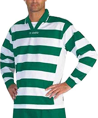 Masita Fußball Schiedsrichter Training Shirt Soccer Schiedsrichter Kleidung Footie Top Jersey - Grün/Weiß