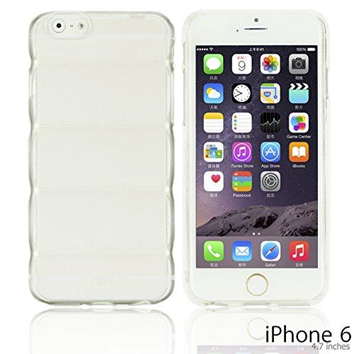 OBiDi - Colorful Body Armor Style Transparent TPU Protective Back Case / Housse pour Apple iPhone 6 / 6S (4.7 inch)Smartphone - Transparent avec 3 Film de Protection Transparent