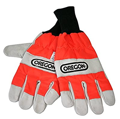 Oregon Chainsaw Protective Gloves for Left Hand Protection
