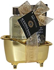 IDC INSTITUTE Coffret Scented Bath Gold Collection 2 Pièces