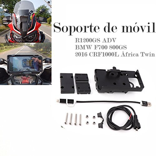 2016 CRF1000L África Twin Soporte Movil de F700 800GS R1200GS ADV Motocicleta...