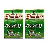 2x DOMINO Kaffeepads Haselnuss (á 18 Pads)