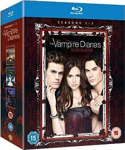 The Vampire Diaries - Season 1-3 Complete [Blu-ray] [2012] [Region Free]
