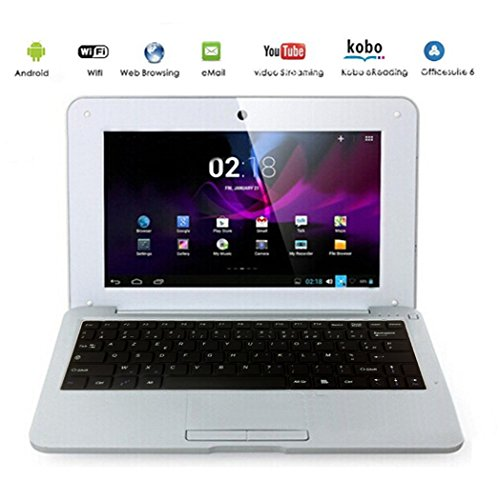 G Anica 10 Netbook/Laptop/Ultrabook, with Android 5.0, HDMI, Display: 25.4 cm (10 Zoll), WLAN, SD, MMC silver Silver 25,4 cm