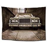 Ludage Wohnteppich, Auto Drucken Tuch Hintergrund Tuch Strand Handtuch Abmessungen: 1.5 * 2m