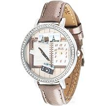 ufengke® niños retro cámara reloj de pulsera-notebook de línea patrón