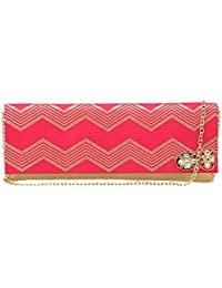 Kashish By Shoppers Stop Womens Party Wear Snap Closure Sling Clutch - B0798N17X8