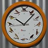 Kraft Vogel Uhr mit DEUTSCHEN heimischen Vögeln und ORIGINAL Stimmen in TOP QUALITÄT
