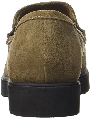 Clarks 261294094, Mocassini Donna Marrone (Olive Suede)