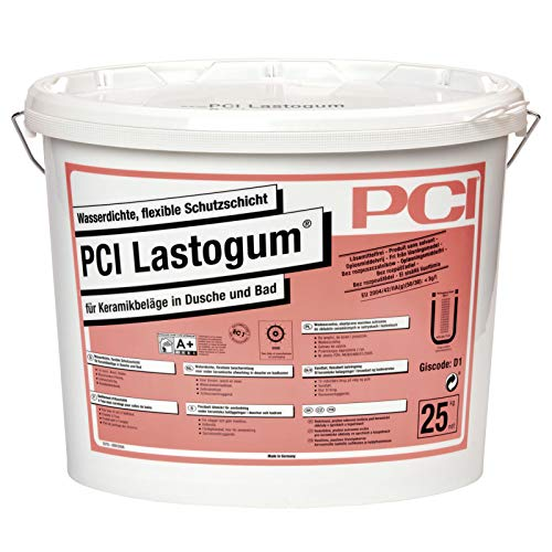 PCI Lastogum 25 kg weiß Flüssigfolie Duschabdichtung Bad Abdichtung Wasserdichte