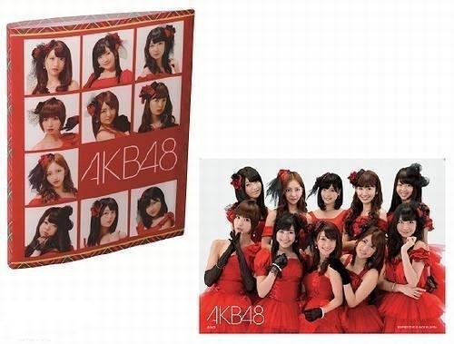 fts ~ 4th dress costume edition poster prize lottery case most (japan import) (Akb48 Kostüm)