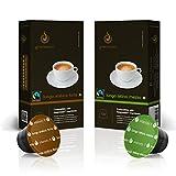 Gourmesso Lungo Bundle - 100 Nespresso kompatible Kaffeekapseln - Fairtrade