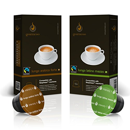 gourmesso-lungo-bundle-100-nespresso-compatible-coffee-capsules-fair-trade