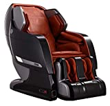 Infinity Iyashi Black/Caramel Zero-Gravity Massage Chair Infinite