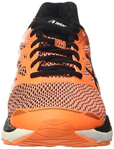 Asics Gel-Cumulus 18, Scarpe da Corsa Uomo Arancione (Hot Orange/Black/White)