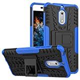 MRSTER Nokia 6 Case, Tyre Pattern Design Heavy Duty Tough