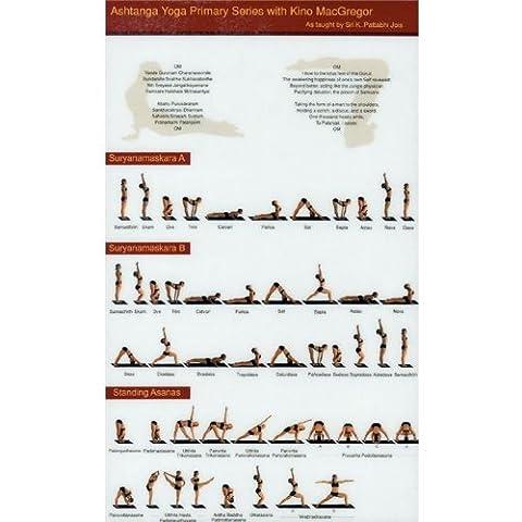 The Ashtanga Primary Series Practice Chart by Kino
