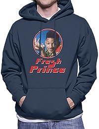 Fresh Prince Of Bel Will Smith Retro Photo Frame Men's Hooded Sweatshirt