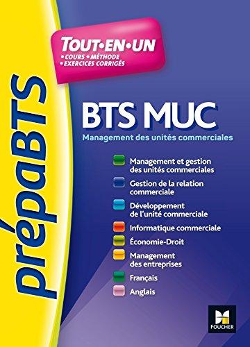 PREPABTS Toutes les matières BTS MUC - Nº1