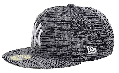 New Era Herren Caps / Fitted Cap Engineered Fit NY Yankees 59Fifty grau 7 - 55,8cm