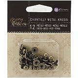 Unbekannt Prima Marketing Metall Memory Hardware Embellishments-Metal Knöpfe, 1