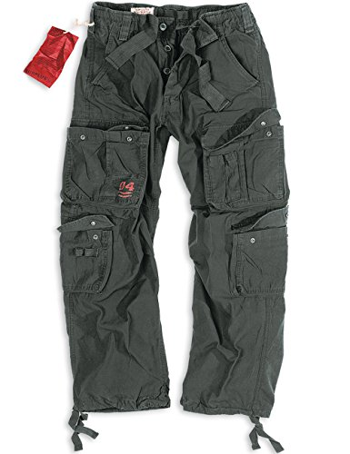 Trooper Airborne Vintage Trousers, schwarz, 4XL