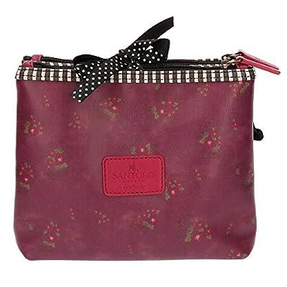 51khJa9CJBL. SS416  - Santoro Gorjuss Heartfelt Beauty Case 3 Cremalleras Make Up Bag Bolsos Neceser Vanity Estuche