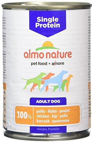 ALMO NATURE Simple Protein chien 100% 400g poulet Aliments grain libre chien