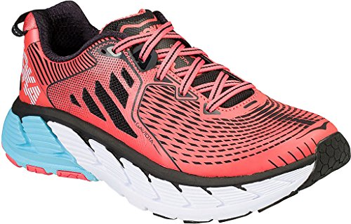Hoka Gaviota, Scarpe Running Donna, Anthracite/Dubarry, 41 1/3 EU