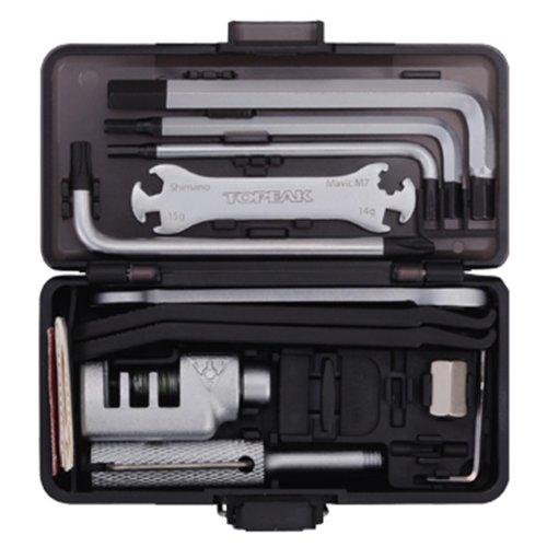 Topeak Survival Gear Box–Maletín de herramientas para bicicleta 23Herramientas Mountain Bike MTB Hexágono Interior, 15400042