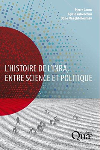 Couverture du livre L'histoire de l'Inra, entre science et politique