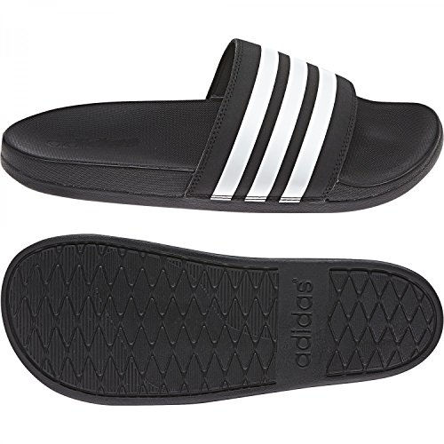 Adidas Ladies Adnet Cloudfoam Plus Stripes Aqua Shoes Multicolore (cblack / Ftwwht / Cblack Ap9966)